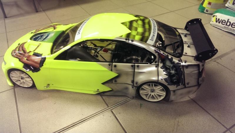 Wieder mal ne neue Karo fertig...1:5 BMW und noch ne kleine 1:10 Mazda6 ;)) Imag1619