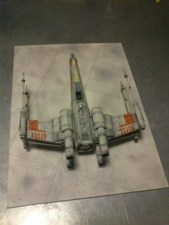 X-Wing Fighter Star Wars, 1/48 FineMolds - Page 3 14239312