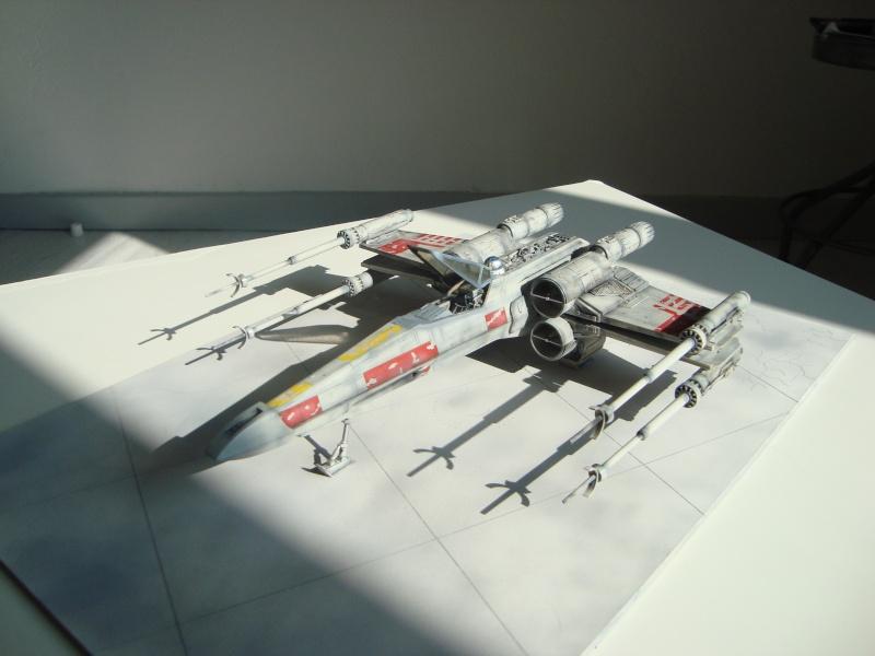 X-Wing Fighter Star Wars, 1/48 FineMolds Dsc02214