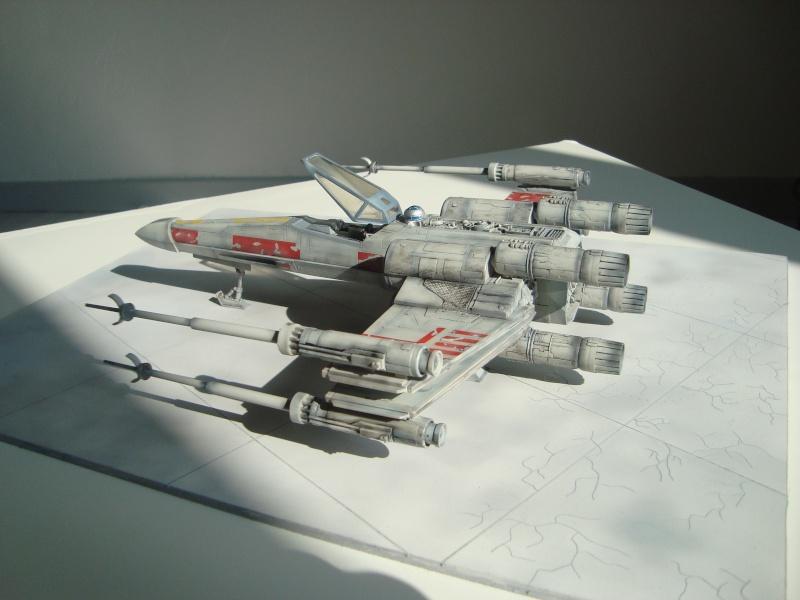 X-Wing Fighter Star Wars, 1/48 FineMolds Dsc02215