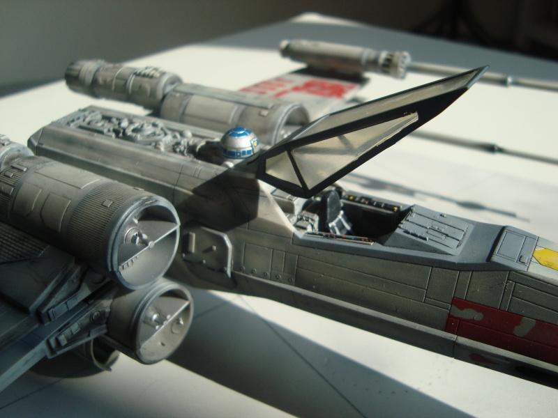 X-Wing Fighter Star Wars, 1/48 FineMolds Dsc02216