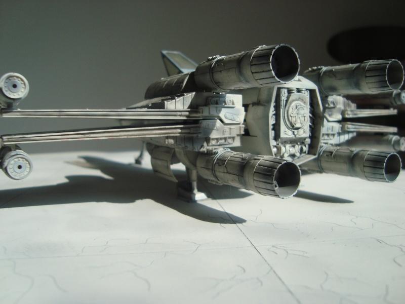 X-Wing Fighter Star Wars, 1/48 FineMolds Dsc02217