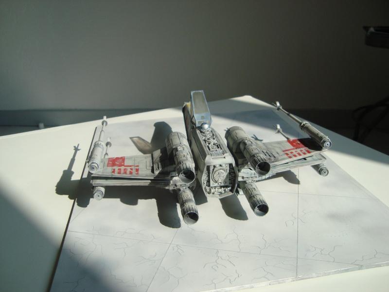 X-Wing Fighter Star Wars, 1/48 FineMolds Dsc02218