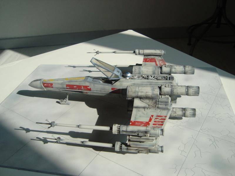 X-Wing Fighter Star Wars, 1/48 FineMolds Dsc02219