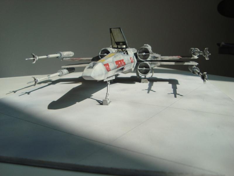 X-Wing Fighter Star Wars, 1/48 FineMolds Dsc02220