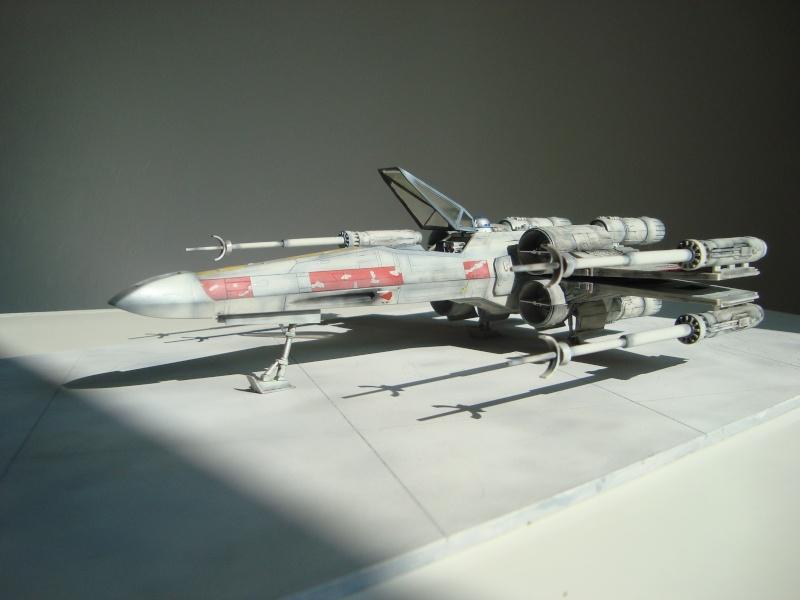 X-Wing Fighter Star Wars, 1/48 FineMolds Dsc02221