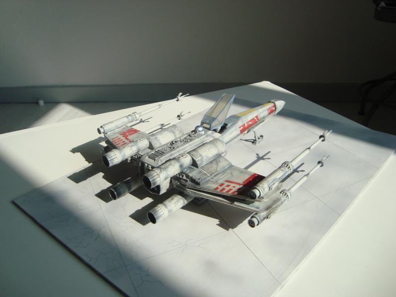 X-Wing Fighter Star Wars, 1/48 FineMolds Dsc02222