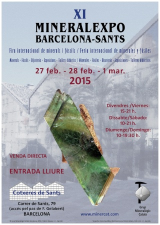 XI MINERALEXPO BARCELONA-SANTS 2015 10967110