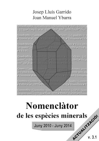 minerals - Actualització del 'Nomenclàtor de les espècies minerals' (versió 3.1) Actual10
