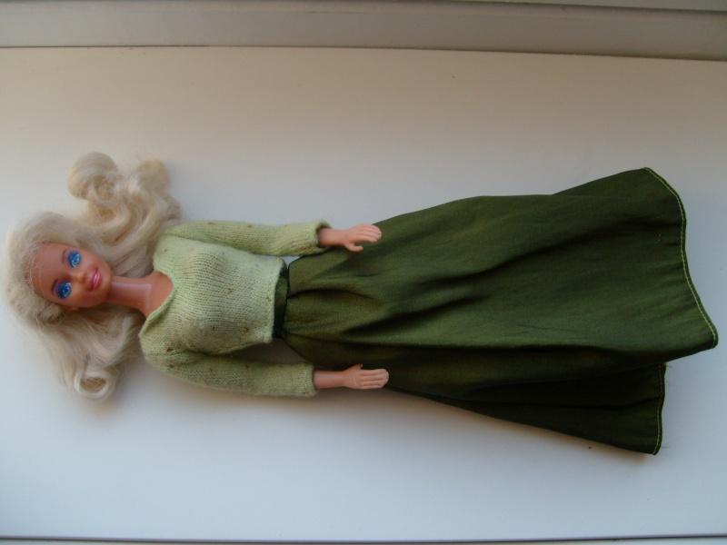 Barbie en vert S7302010