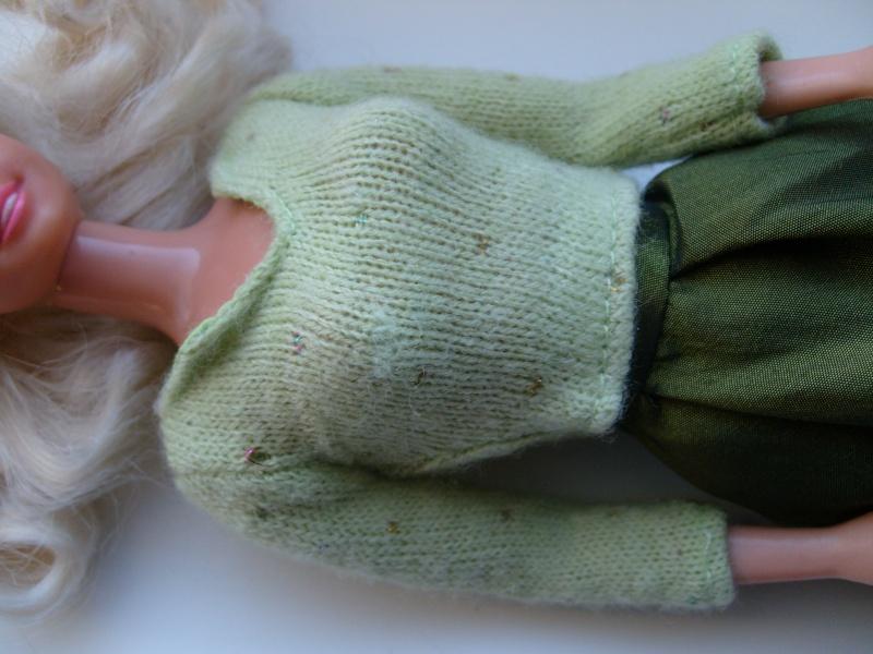 Barbie en vert S7302011