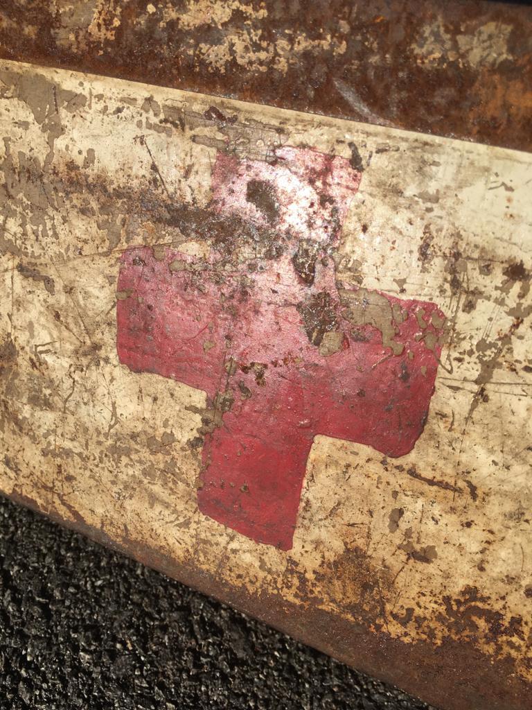 Une caisse de munition mg allemande croix rouge. 071f5610