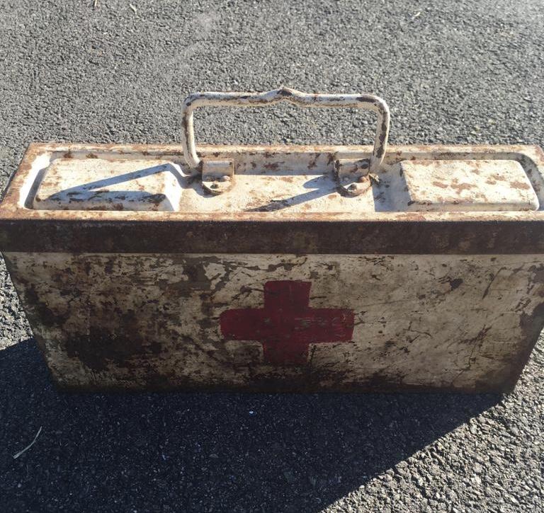 Une caisse de munition mg allemande croix rouge. 0cce1510
