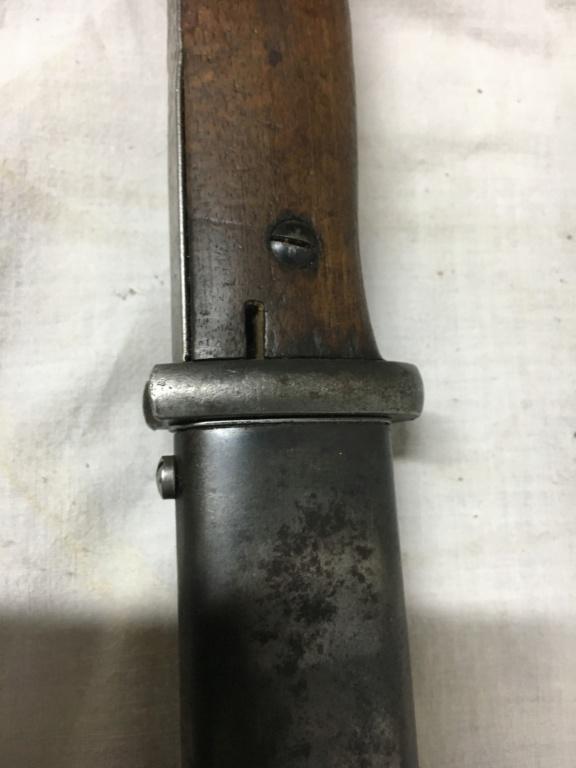 Baïonnette mauser K98 police 1c19b210