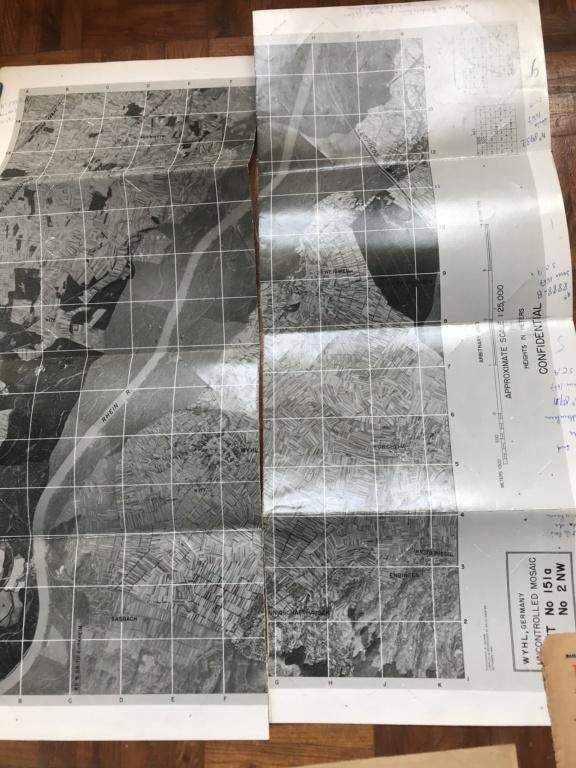 Des papiers indo et ww2 : photo oflag, carte Colmar et indo, journaux DDay. 2fd45d10