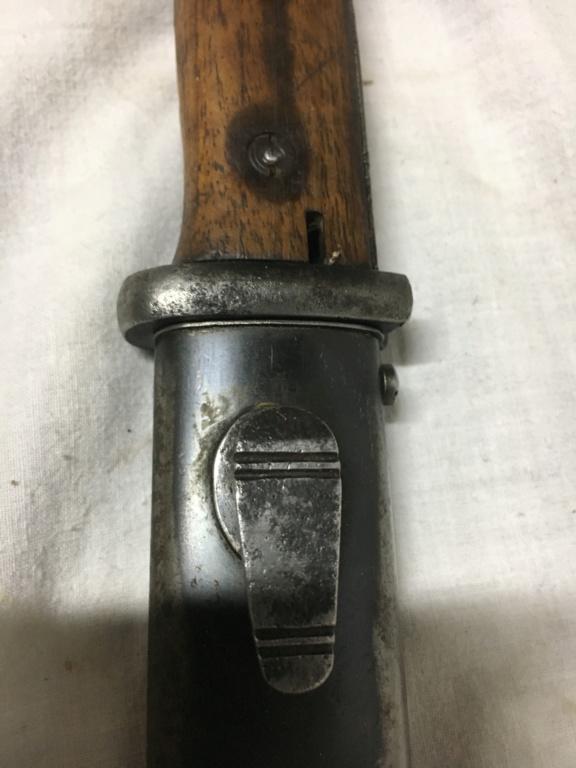 Baïonnette mauser K98 police 3332b810