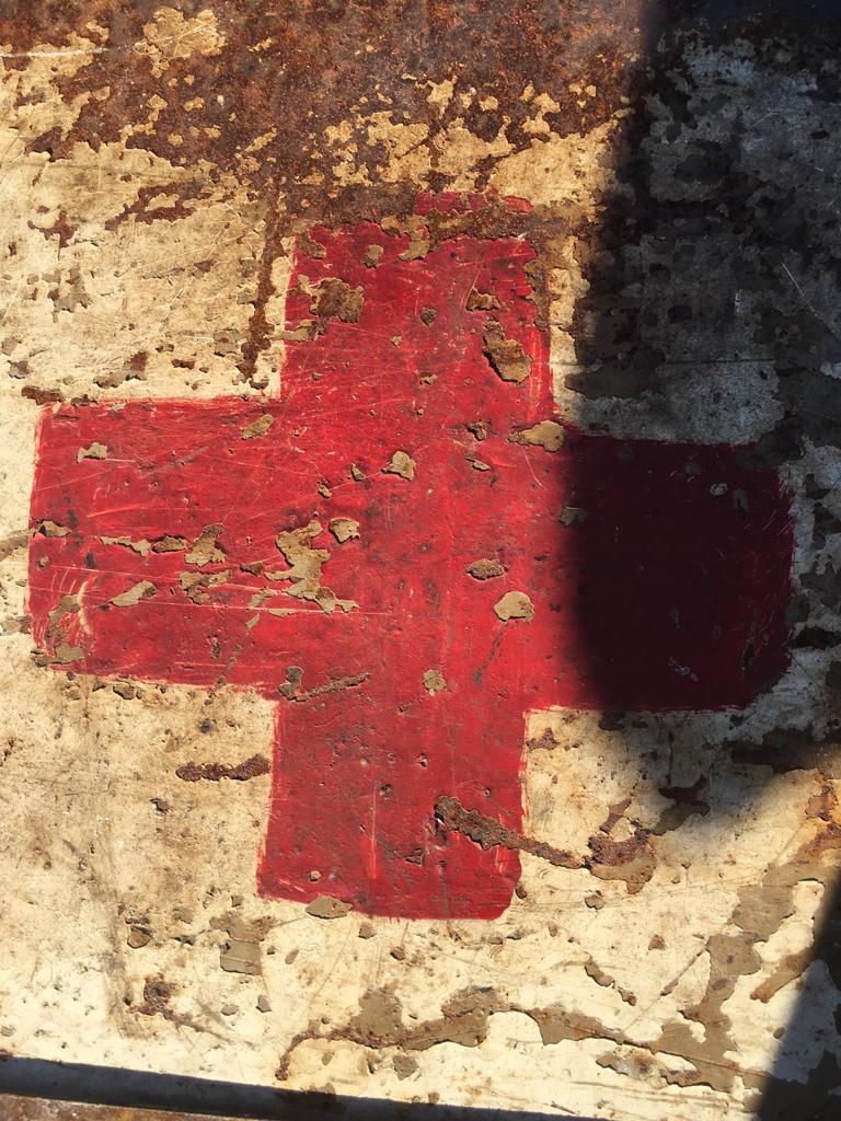 Une caisse de munition mg allemande croix rouge. 33ba1010
