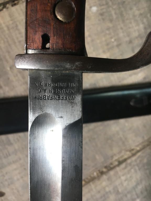 Identification poinçon  baïonnette allemandz 98/05 46bb1e10