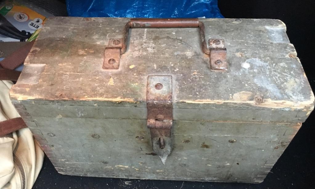 Caisse allemande munition 711b3410