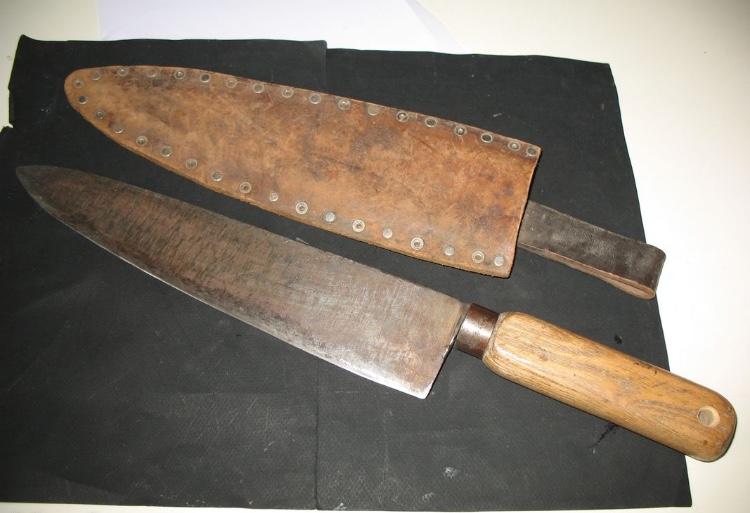 Couteau de boucher de tranchee?  7c07f410