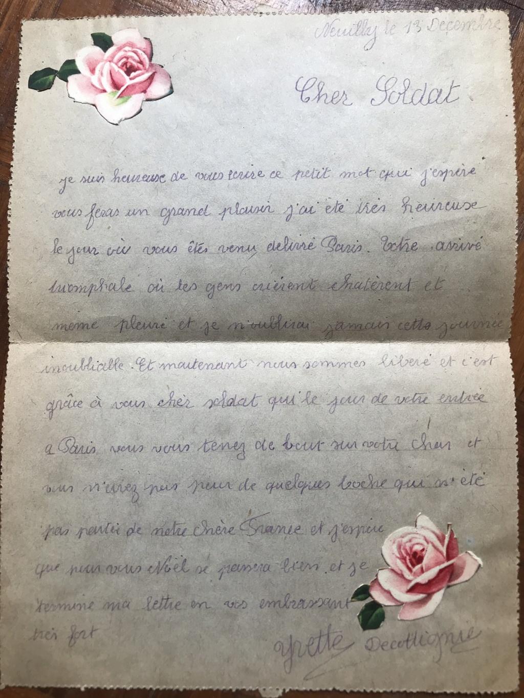 Des papiers indo et ww2 : photo oflag, carte Colmar et indo, journaux DDay. 7c4c5a10
