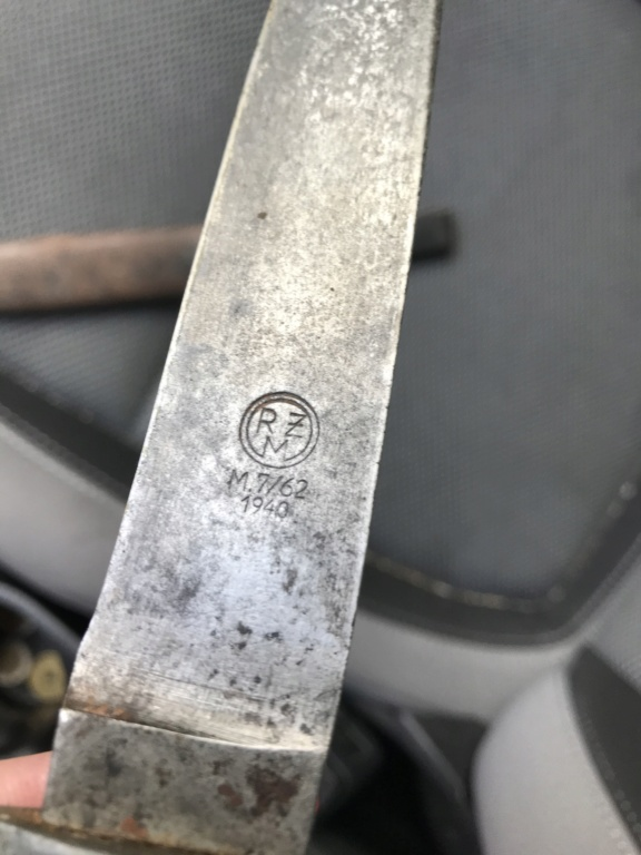 Couteau HJ transformé indochine 86e12910