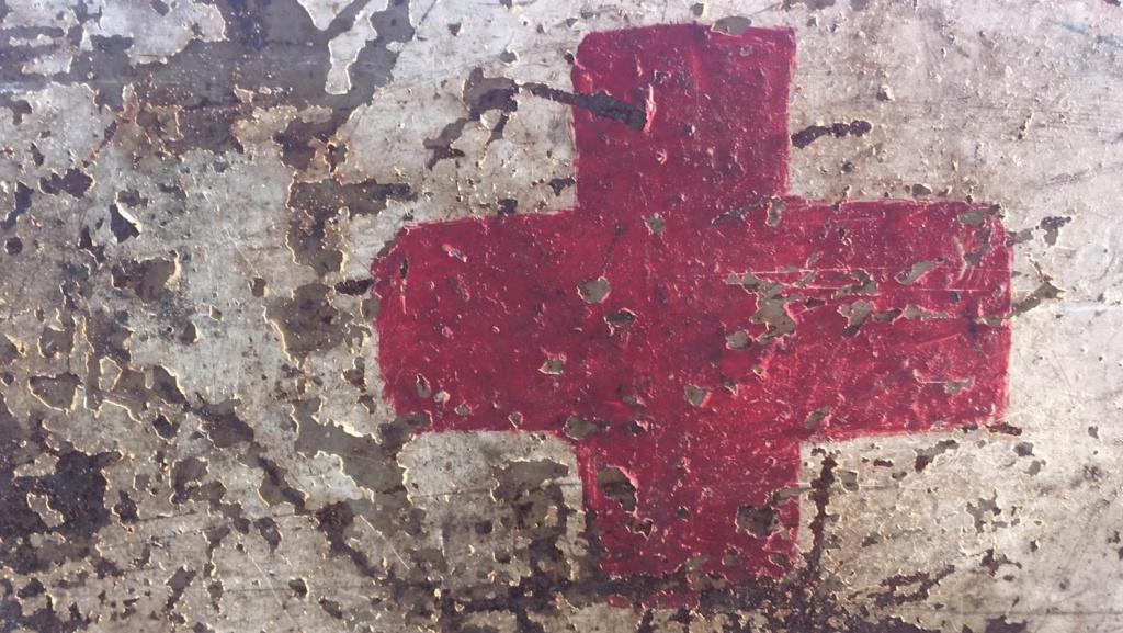 Une caisse de munition mg allemande croix rouge. 95c58a10