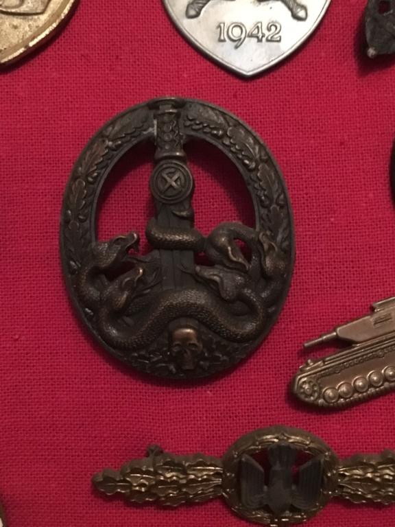 insigne de lutte contre les bandes partisans seconde pièce Aee8b910