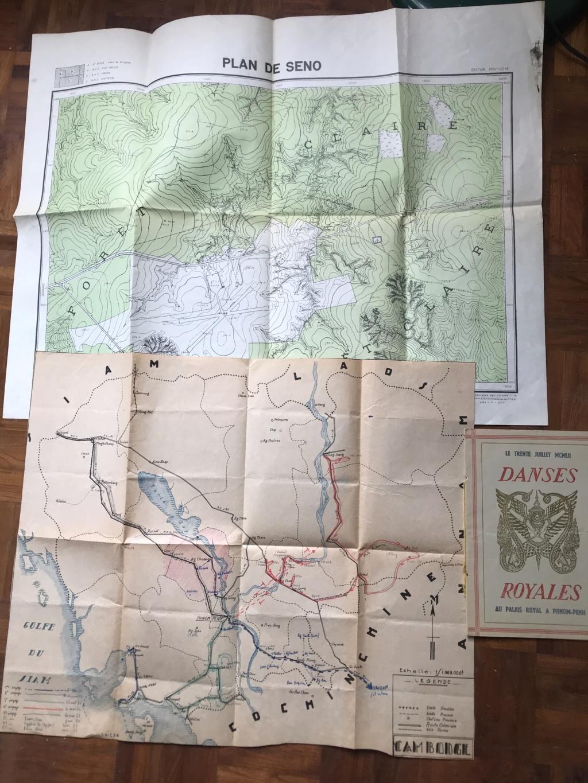 Des papiers indo et ww2 : photo oflag, carte Colmar et indo, journaux DDay. Be3ee710