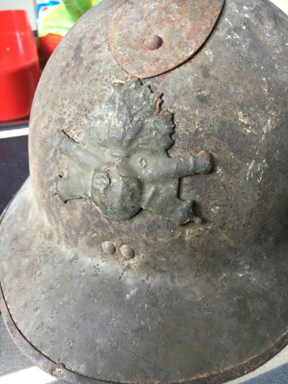 Achats du net : jolies douilles de poilu et un casque Adrian 26 (demande conseil C27cea10