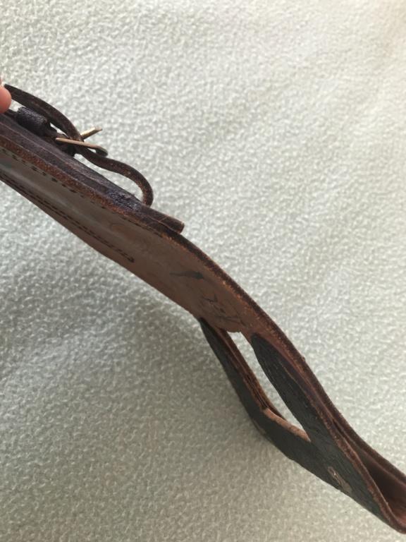 Gousset cuir noir Baionnette lebel C5b4b210