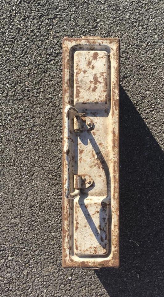 Une caisse de munition mg allemande croix rouge. C6859810