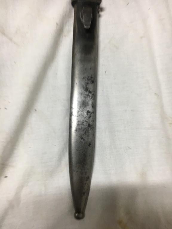 Baïonnette mauser K98 police Ca71a410