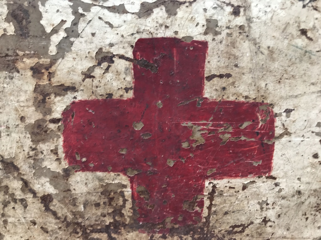 Une caisse de munition mg allemande croix rouge. De4b5410