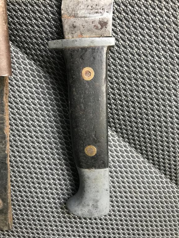 Couteau HJ transformé indochine Decd7610