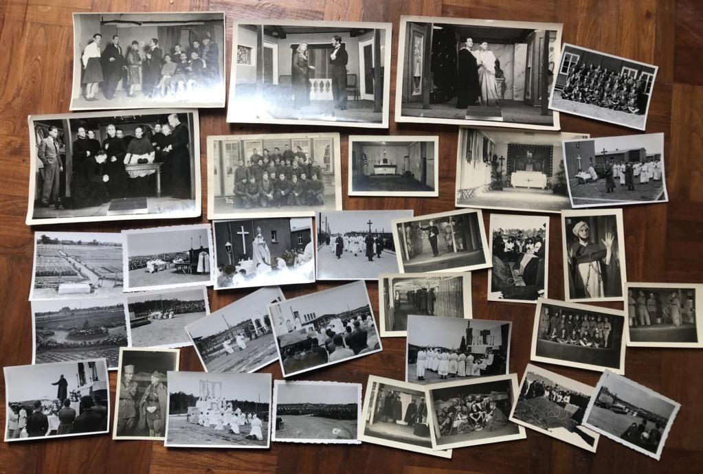 Des papiers indo et ww2 : photo oflag, carte Colmar et indo, journaux DDay. Fa6a3010