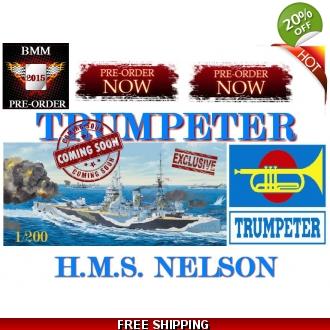 HMS Nelson TRUMPETER 1/200 14181010