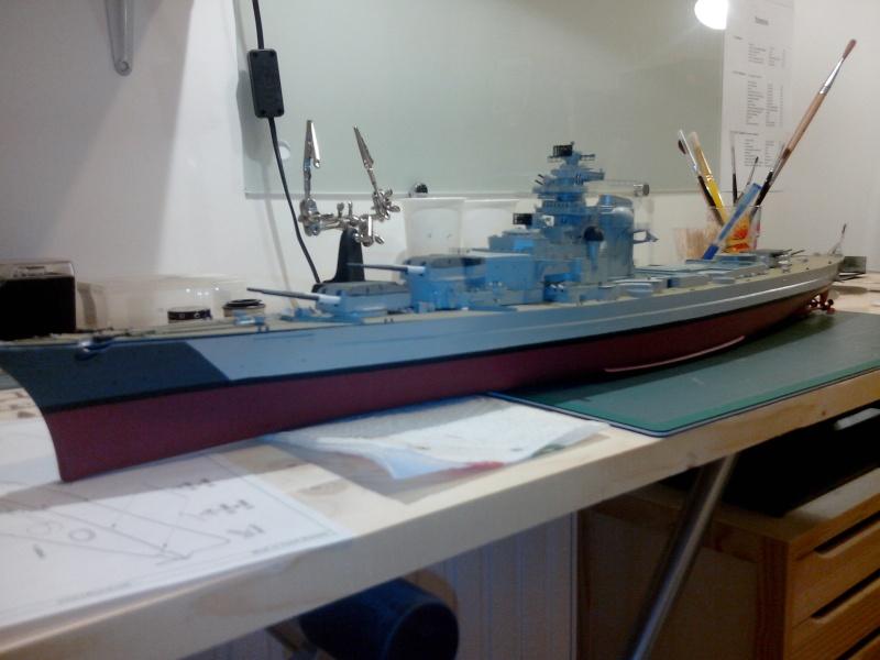 Bismarck par HellCat76 1/350 Academy, kit eduard - Page 6 Img_2052
