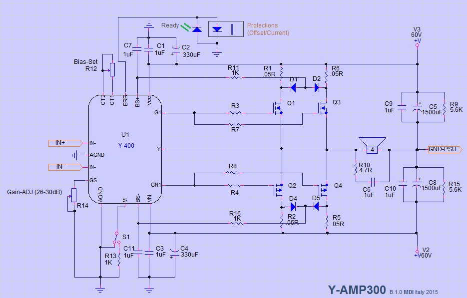 HYbride pour professional AB class ? Yamp-312