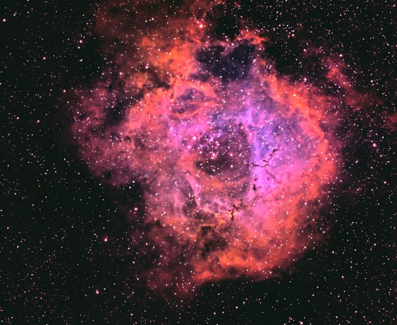 NGC2244 Rosette Nebula Lrvbng10