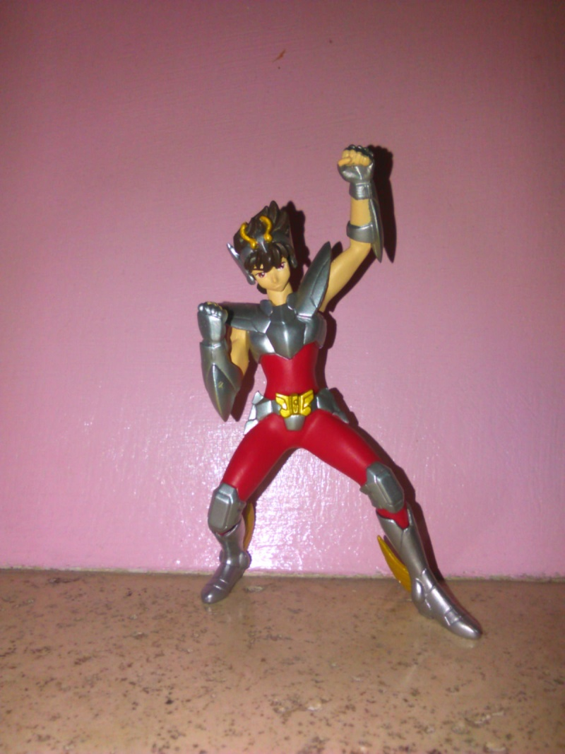vendo SAINT SEIYA PEGASUS pvc figure figurine gashapon bronzo Peg10