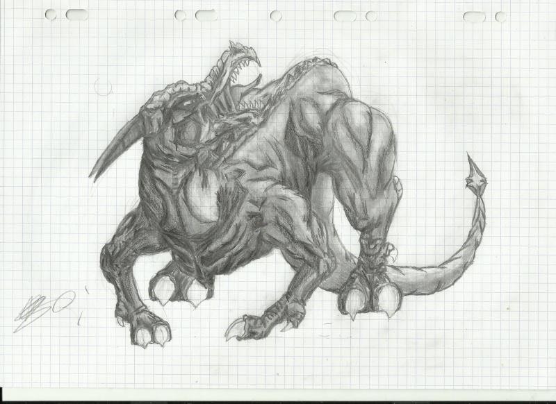 Ma galerie (attention nudité, peut être un peu gors aussi :p) Dragon13