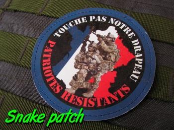 Patches MTT-GAF / Touche pas a notre drapeau - Patriotes résistants   Bat_le10