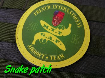 Patches MTT-GAF / Touche pas a notre drapeau - Patriotes résistants   Bat_le11
