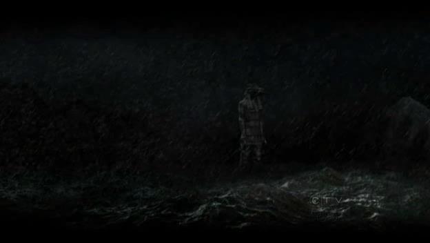 La grande statue de l'île de Lost . 6x09_b10