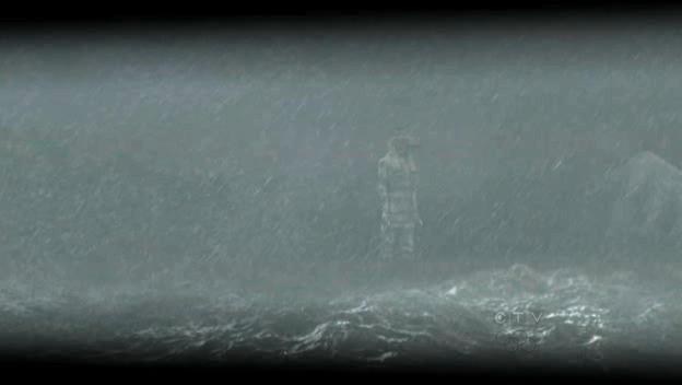 La grande statue de l'île de Lost . 6x09_b11