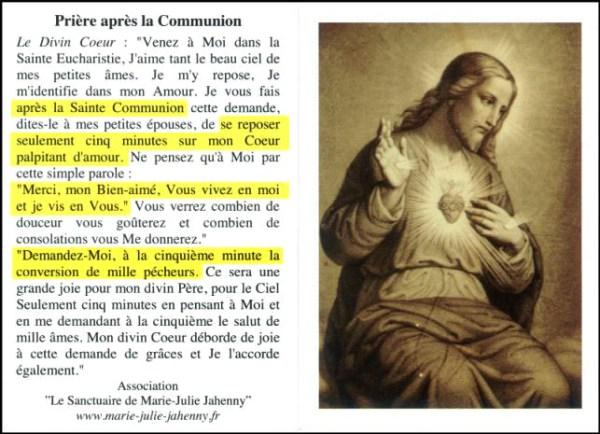 Prière après la communion Priere11