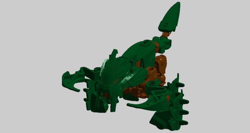 [MOC] Les MOC de Hippo brick self moc  - Page 10 Rahi_t10