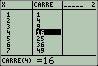 [TUTO] Les tableaux en TI-Basic z80 Carre10