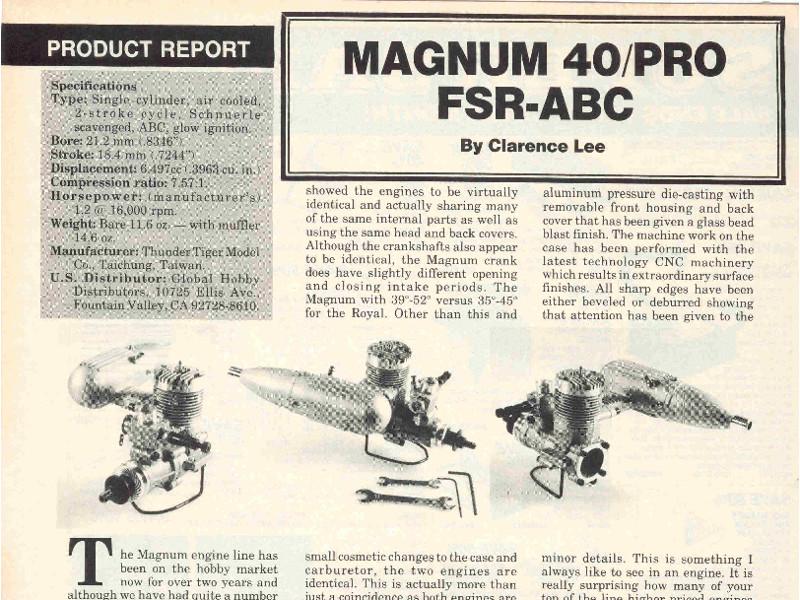 ASP S25A RC Magnum10
